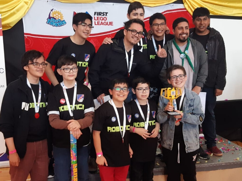 Campeones Regionales First Lego League